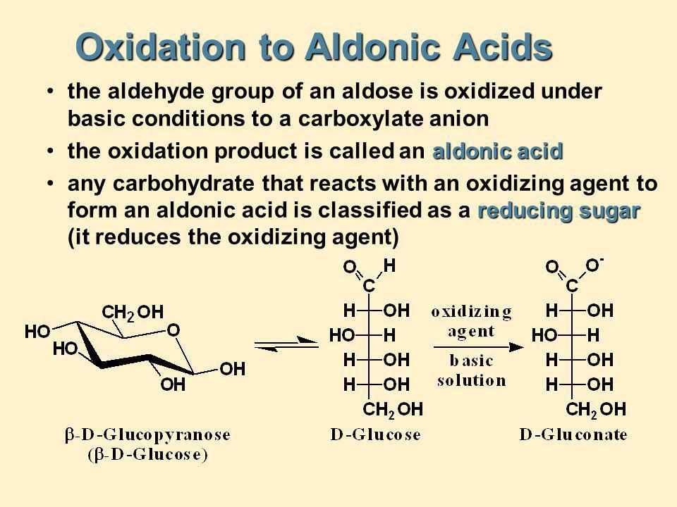Oxidation to Aldonic Acids