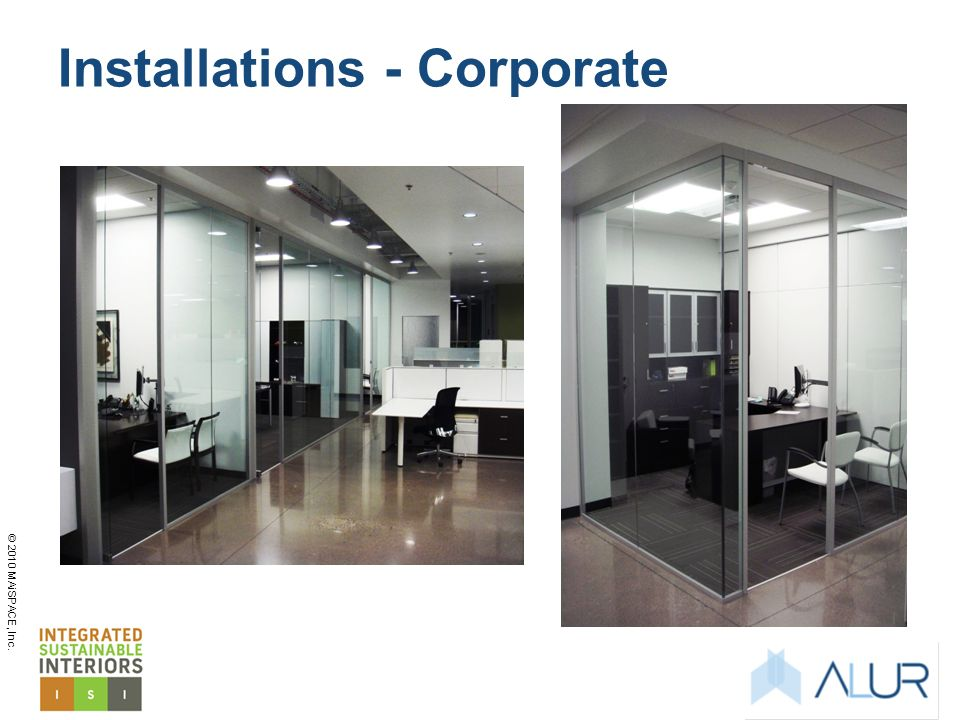 Installations - Corporate