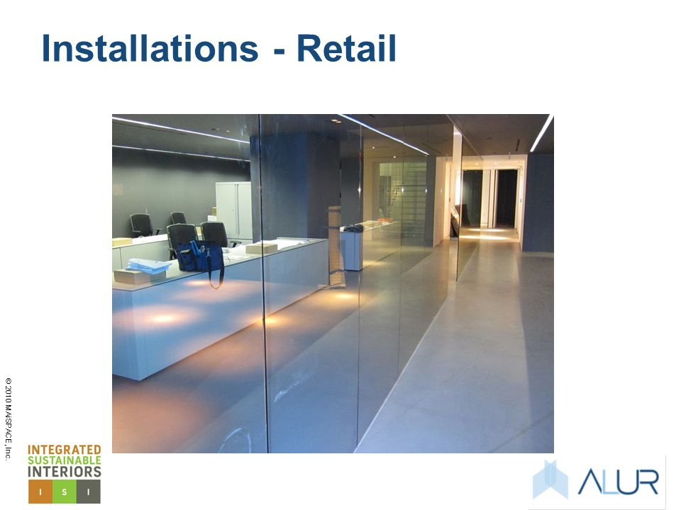 Installations - Retail