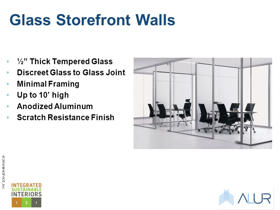 Glass Storefront Walls