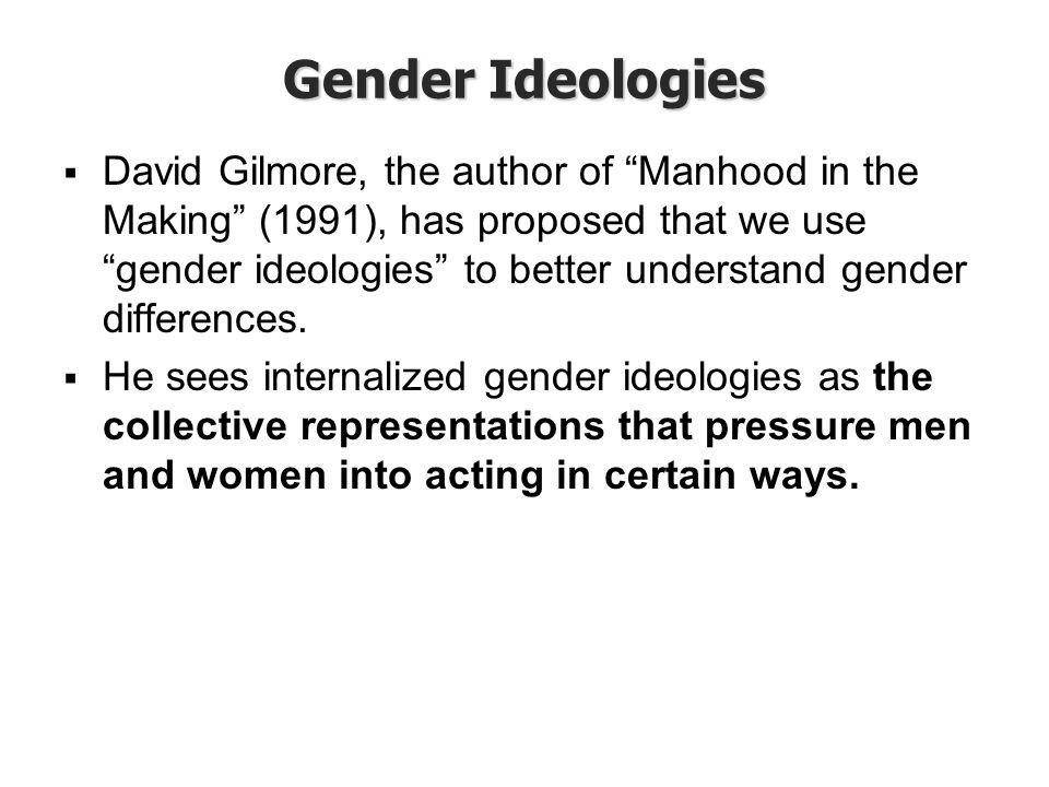 Gender Ideologies