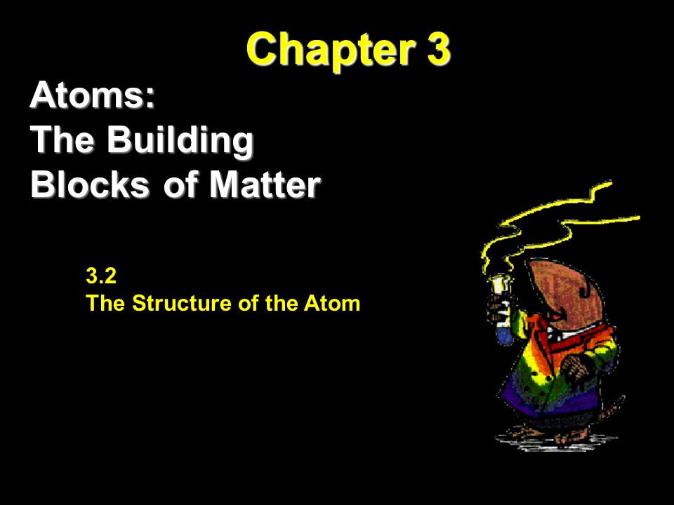 Chapter 3 Atoms: The Building Blocks of Matter 3.2