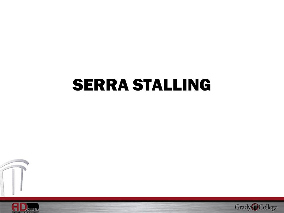 SERRA STALLING