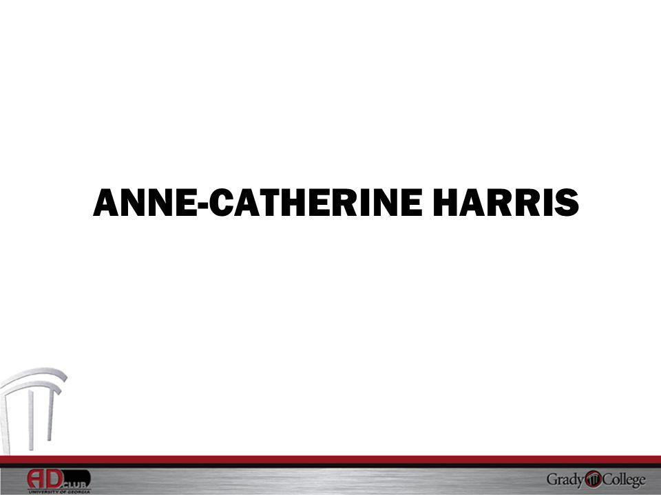 ANNE-CATHERINE HARRIS