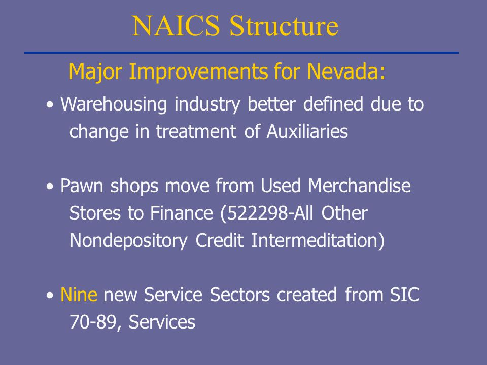 Major Improvements for Nevada: