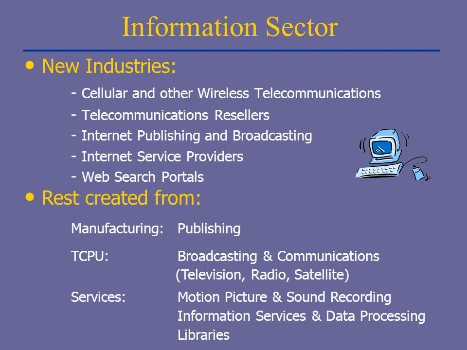 Information Sector