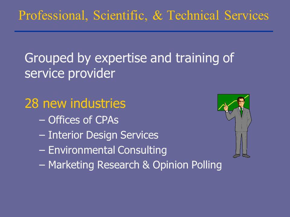 Professional, Scientific, & Technical Services