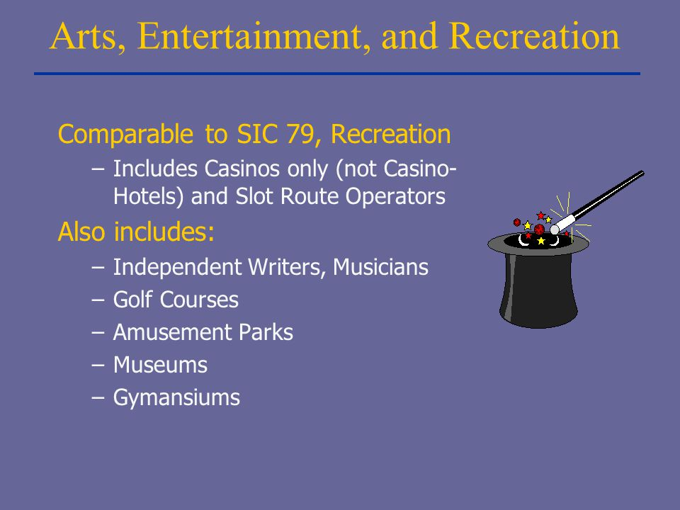 Arts, Entertainment, and Recreation