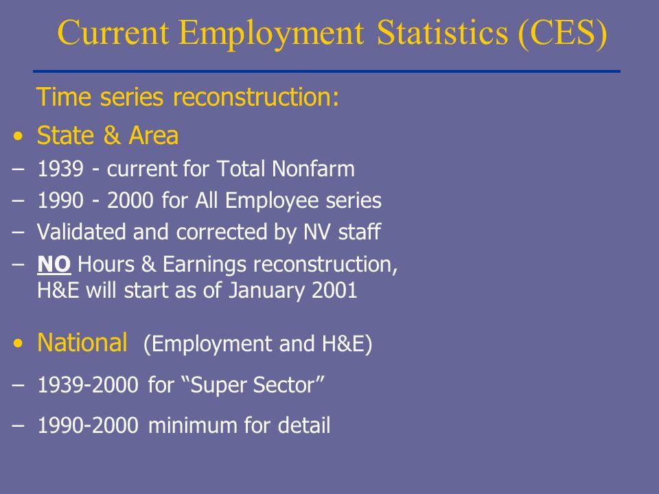 Current Employment Statistics (CES)