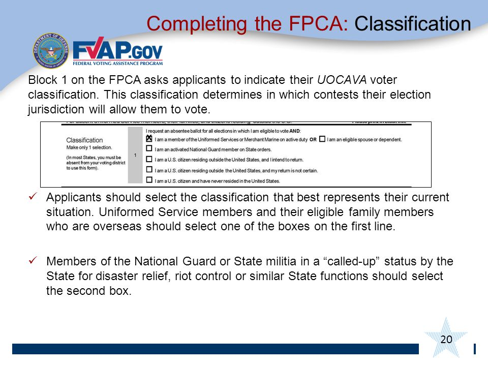 Completing the FPCA: Classification