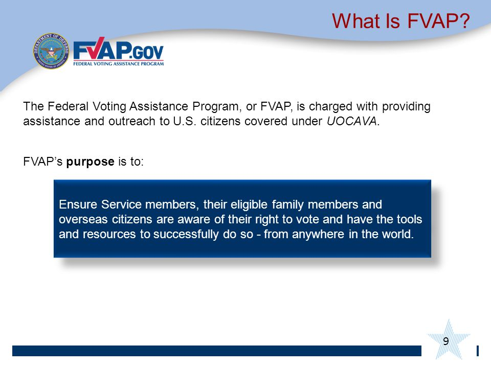 What Is FVAP