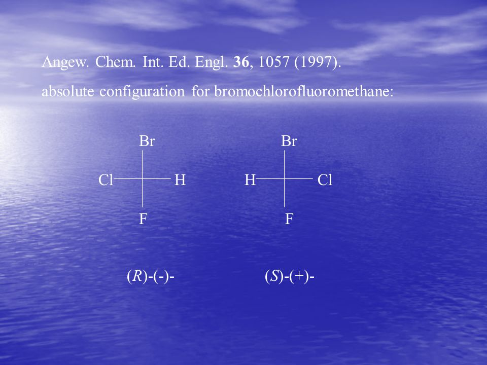 Angew. Chem. Int. Ed. Engl. 36, 1057 (1997).