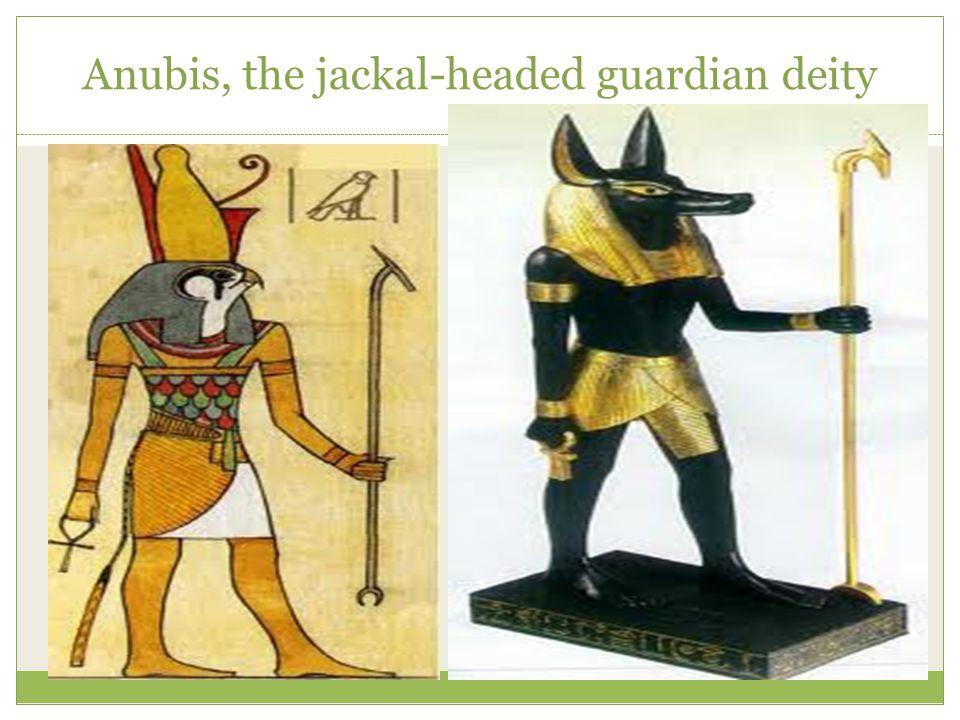 Anubis, the jackal-headed guardian deity