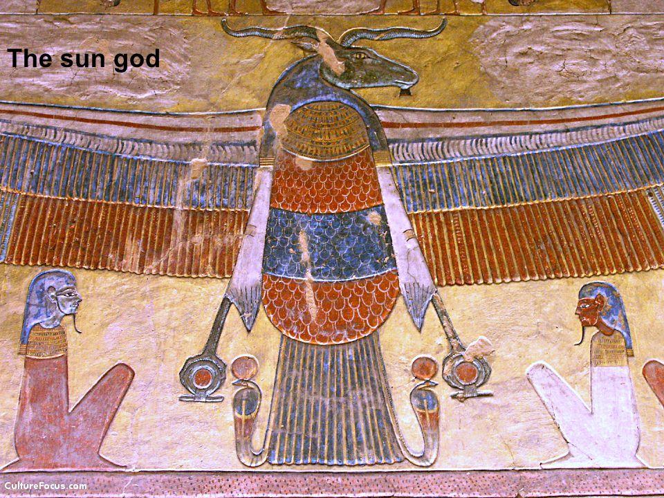 Horis The sun god
