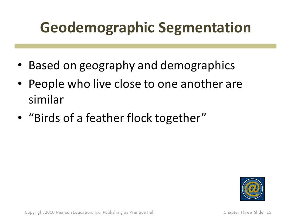 Geodemographic Segmentation