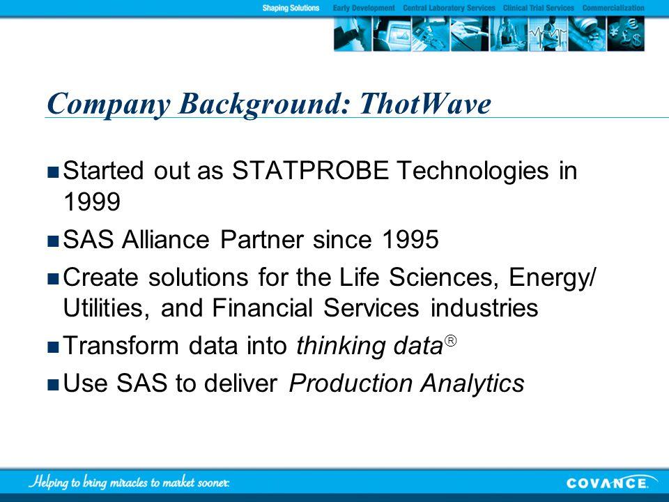 Company Background: ThotWave