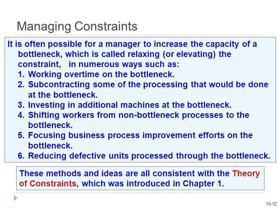 13-12 Managing Constraints.