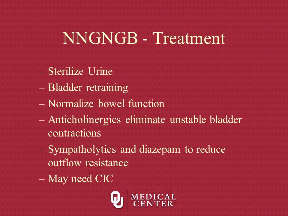 NNGNGB - Treatment Sterilize Urine Bladder retraining