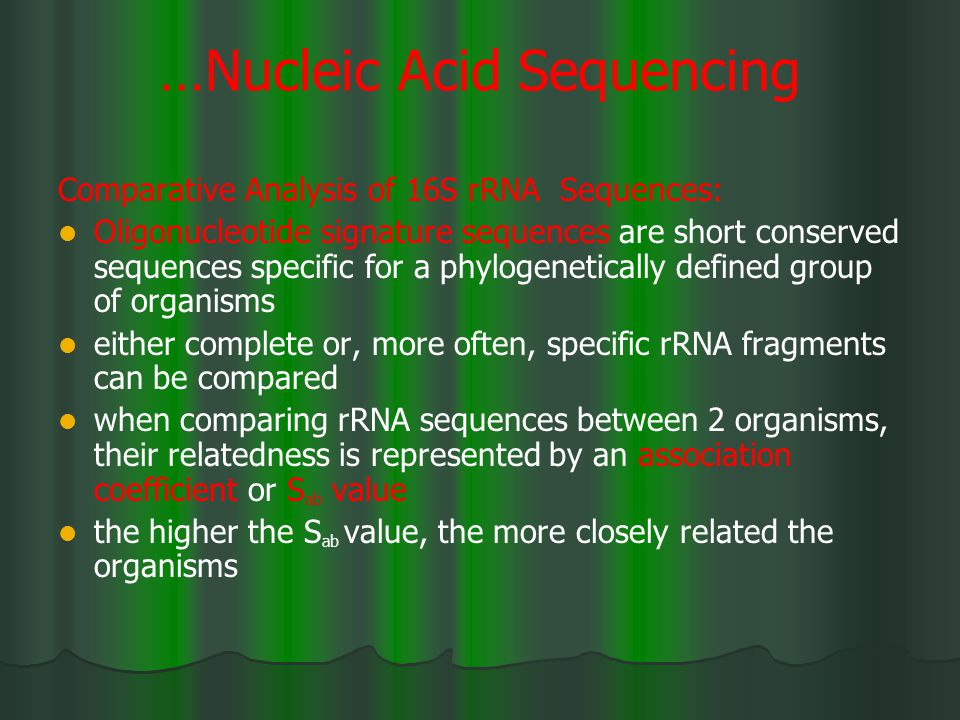 …Nucleic Acid Sequencing