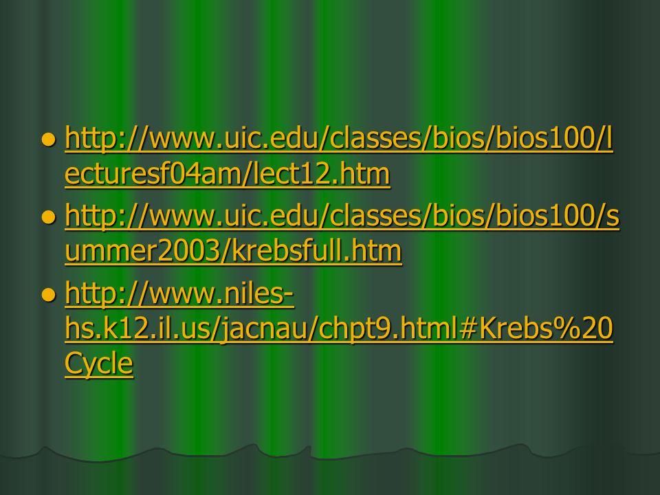 http://www.uic.edu/classes/bios/bios100/lecturesf04am/lect12.htm http://www.uic.edu/classes/bios/bios100/summer2003/krebsfull.htm.