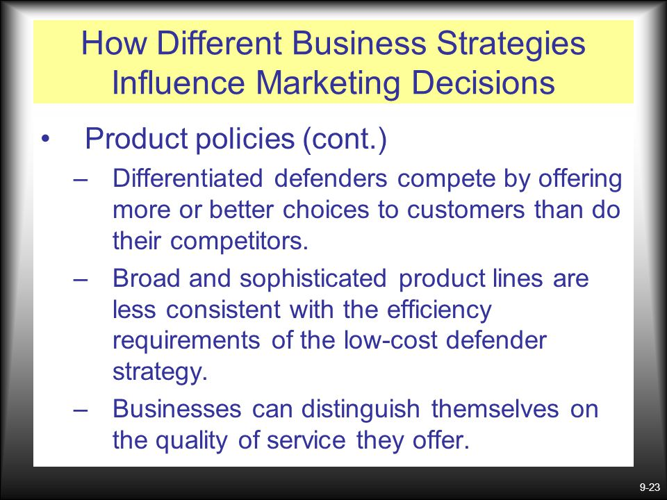how the customers influence business strategy Understanding how external factors can influence how you price  these market  influences will also help guide your choice of pricing strategy  price sensitivity  refers to the changes in customer demand as a price changes.
