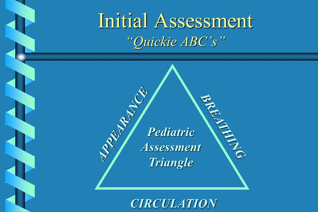 Initial Assessment Quickie ABC's