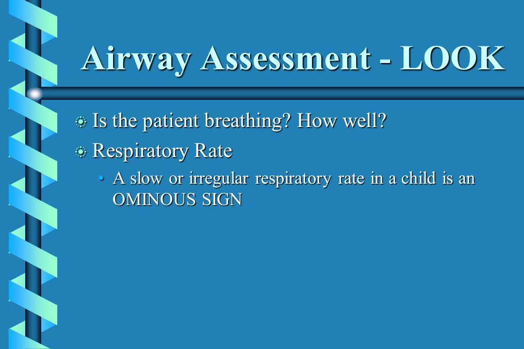 Airway Assessment - LOOK