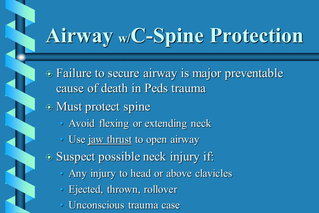 Airway w/C-Spine Protection