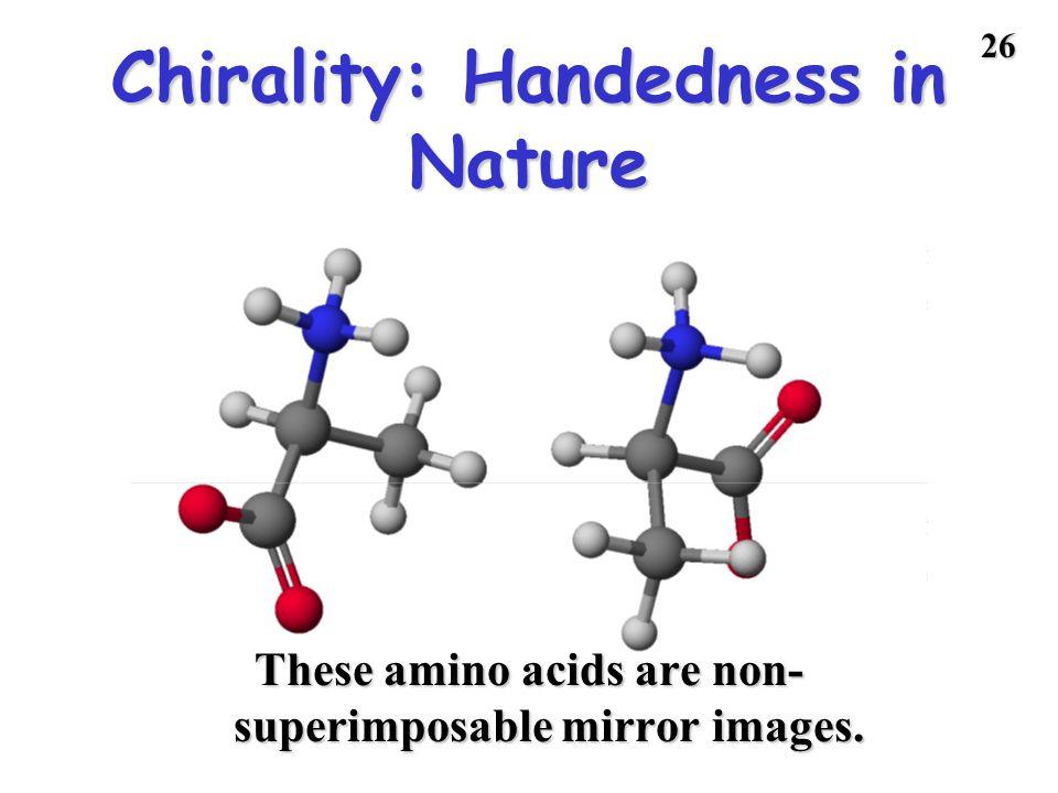 Chirality: Handedness in Nature