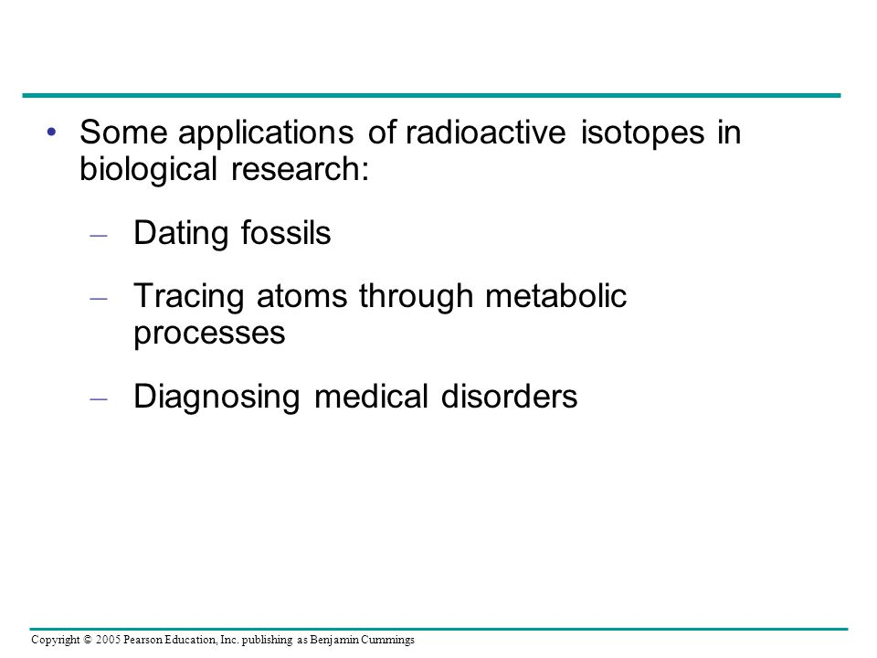 application of radioactive isotopes in dating Quizlet provides radioactive isotopes activities, flashcards and games start learning today for free.