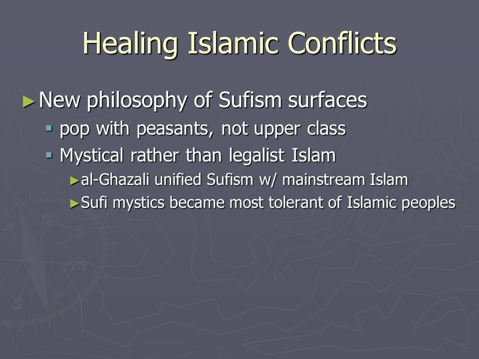 Healing Islamic Conflicts