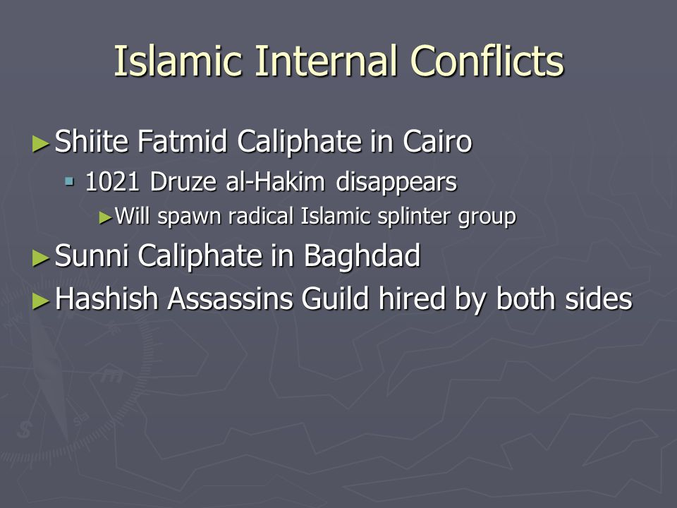 Islamic Internal Conflicts