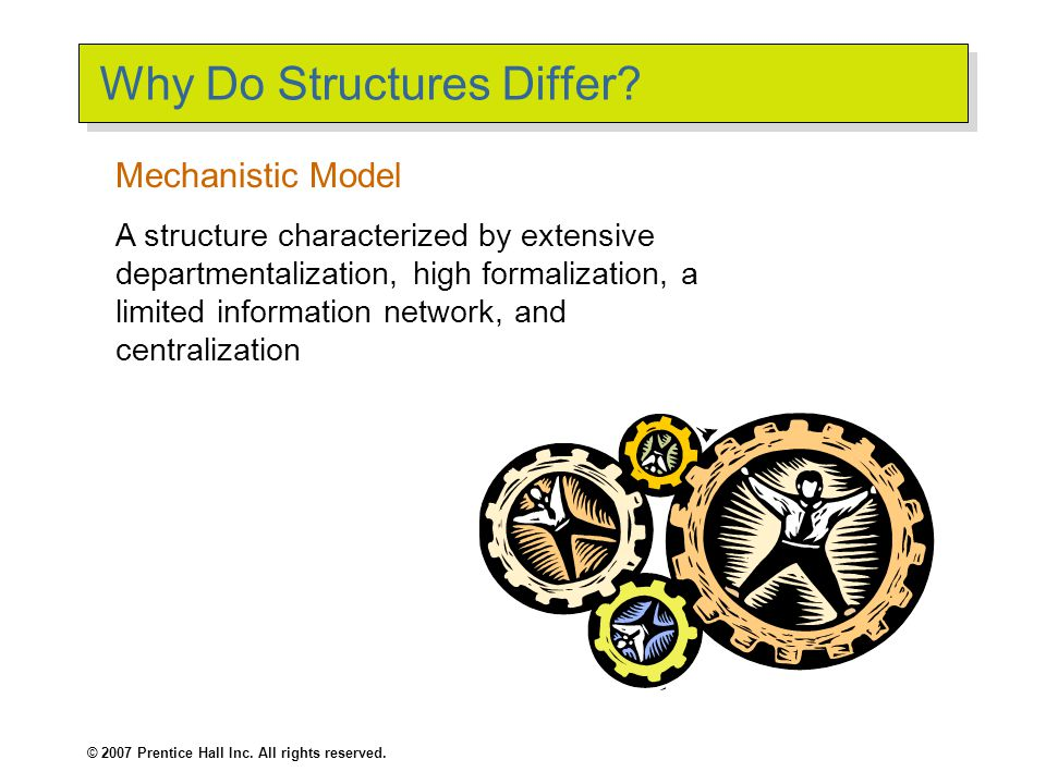 Why Do Structures Differ