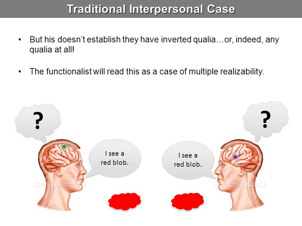 Traditional Interpersonal Case