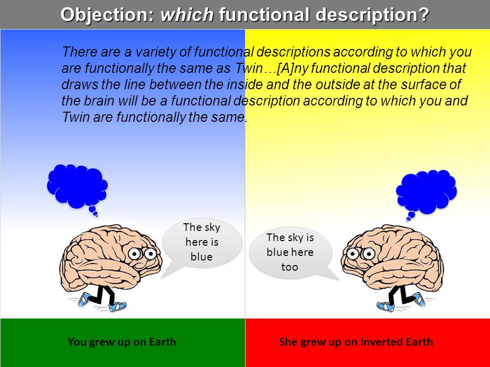 Objection: which functional description
