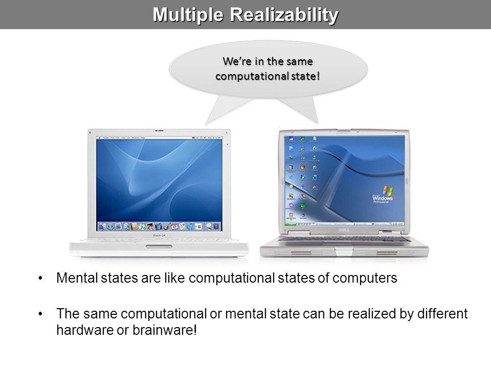 Multiple Realizability