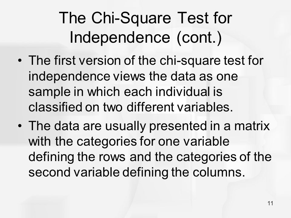 Chapter 18: The Chi-Square Statistic - ppt download
