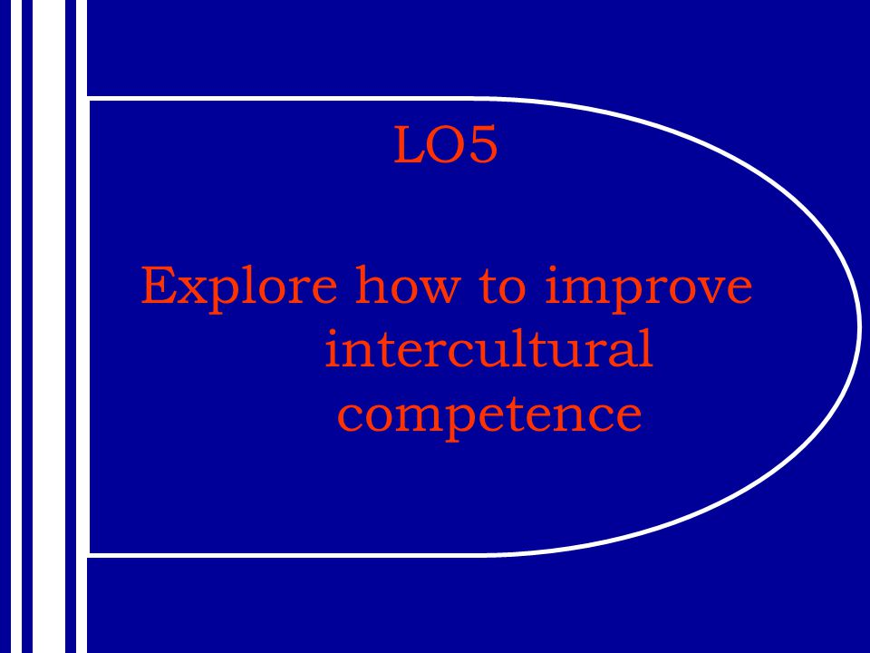 Explore how to improve intercultural competence