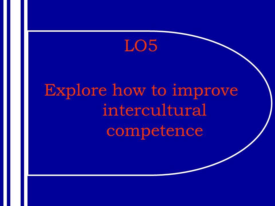 Explore how to improve intercultural competence