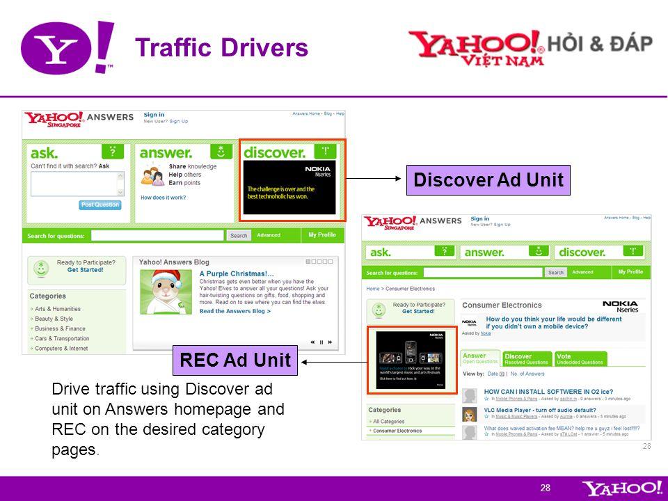 Traffic Drivers Discover Ad Unit REC Ad Unit