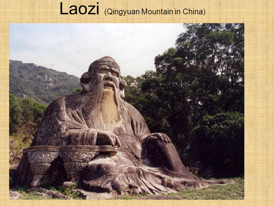 Laozi (Qingyuan Mountain in China)