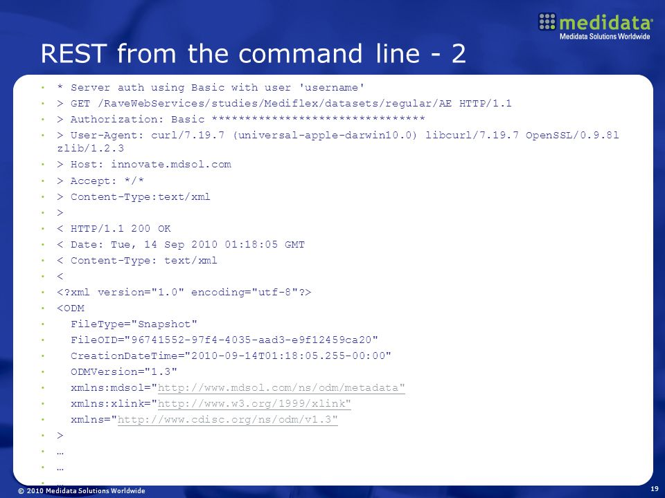 REST from the command line - 2
