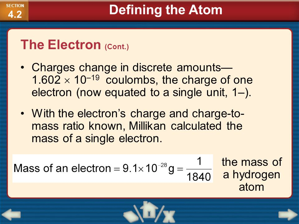 the mass of a hydrogen atom