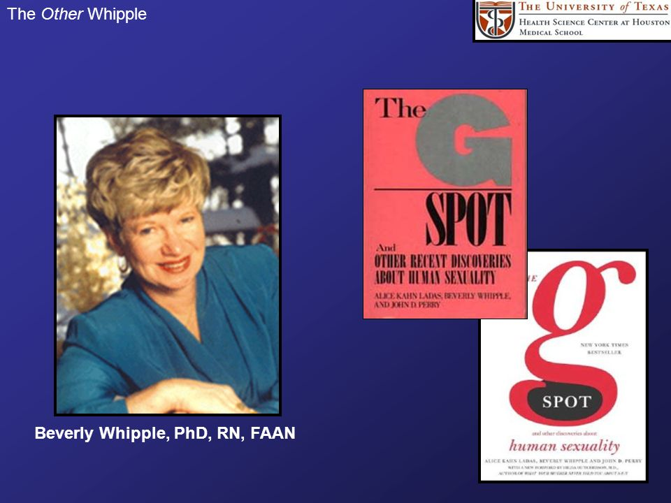 Beverly Whipple, PhD, RN, FAAN