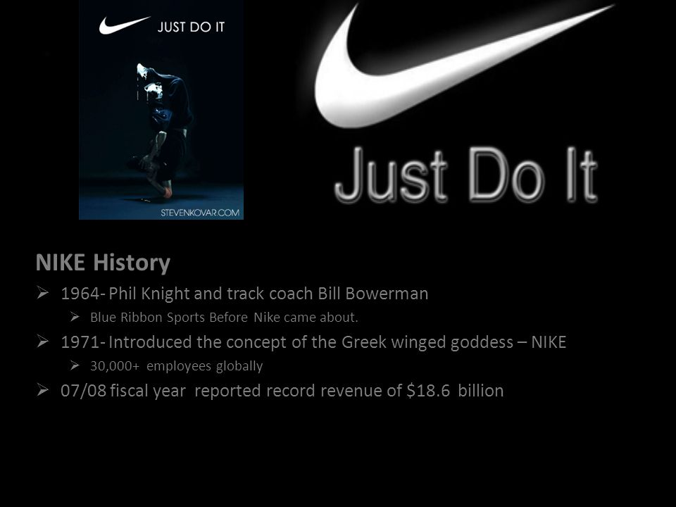 NIKE History 1964- Phil Knight and track coach Bill Bowerman