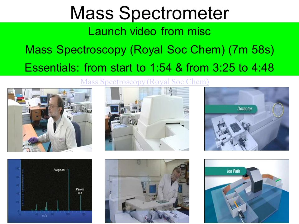 Mass Spectrometer Launch video from misc