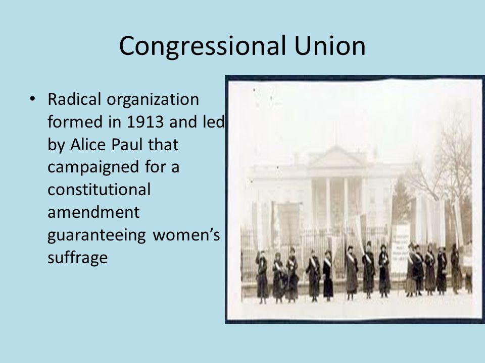 Congressional Union