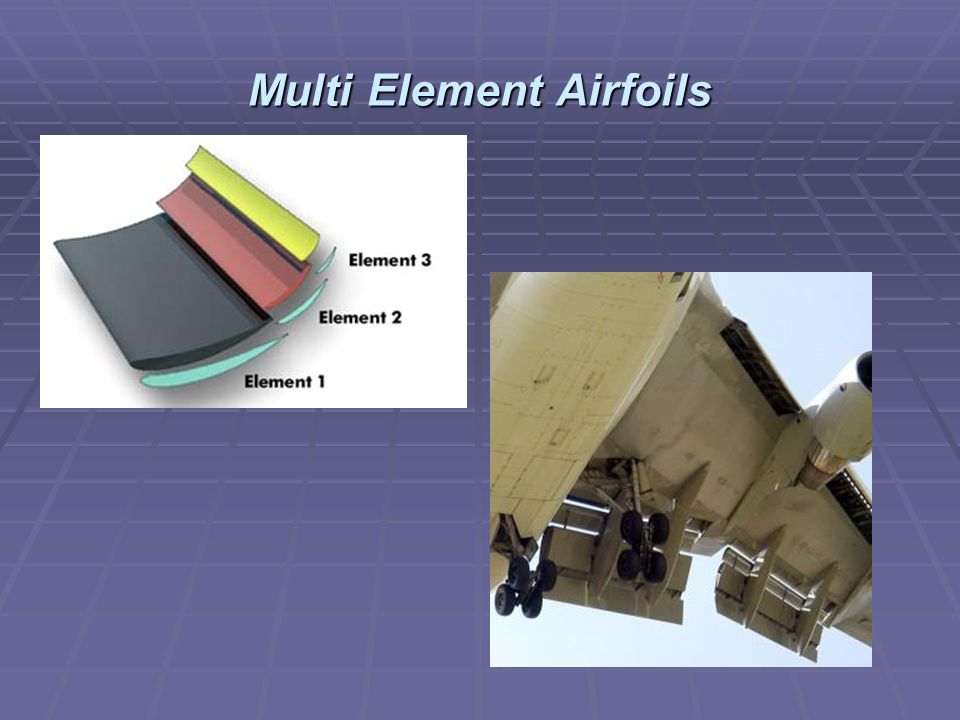 Multi Element Airfoils