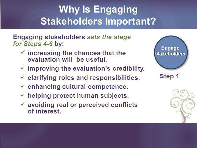 Why Is Engaging Stakeholders Important