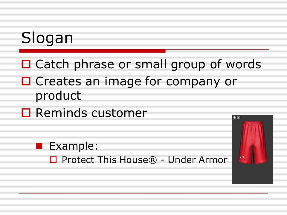 mgmt 479 under armour powerpoint group The technology behind under armour's diverse product assortment for men, women and youth is complex, but the program for reaping the benefits is simple: wear heatgear® when it's hot, coldgear® when it's cold, and allseasongear® between the extremes.